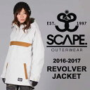 16-17 SCAPE REVOLVER JACKET/SCAPE スノーボードウェア/SCAPE ウェア レディース/SCAPE ウエア レディース/SCAP...