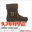 crocs【クロックス】Cobbler ankle boots/クロックス コブラー アンクル ブーツ レディース マンモス ボア ムートン【532P19Mar16】