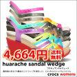 ショッピングCROCS crocs【クロックス】 Huarache Sandal Wedge/ワラチェ サンダル ウェッジ 10P21Aug14 レディース サンダル