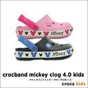 crocs kids【クロックスキッズ】Crocband Mickey Clog