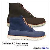 crocs【クロックス】cobbler 2.0 boot mens/コブラー 2.0 ブーツ メンズ※※ レインブーツ レインシューズ メンズ レディース レインブーツ 長靴