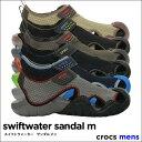 crocs【クロックス メンズ】Swiftwater Sandal m/スイフトウォーター※※ サン