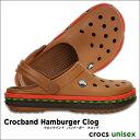 crocs【クロックス】Crocband Hamburger Clog/クロックバンド ハンバーガー クロッグ※※ メンズ レディース サンダル10P30Nov14