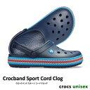 ショッピングシャワーサンダル ..▼-40% CROCS【クロックス】Crocband Sport Cord Clog/ クロックバンド スポーツコード クロッグ/ ネイビー|メンズ レディース サンダル スポーツサンダル シャワーサンダル ビーチサンダル リカバリーシューズ