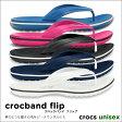 crocs【クロックス】 Crocband Flip/クロックバンド フリップ ビーチサンダル ビーサン サンダル ※※ 父の日ギフト【10P18Jun16】