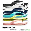 crocs【クロックス】Crocband Flip / クロックバンド フリップ ※※ ビーチサンダル ビ