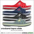 crocs【クロックス】 Crocband LoPro Slide/クロックバンド ロープロ スライド※※メンズ レディース サンダル スポーツサンダル オフィス スリッパ   【10P18Jun16】