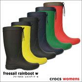crocs【クロックス】freesail rainboot w/クロックス フリーセイル レインブーツ W※※ レインブーツ レインシューズ ブーツ 長靴【532P14Aug16】