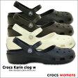 crocs【クロックス】Crocs Karin clog w/クロックス カリン クロッグ ウィメン※※ 医療 介護 病院 看護 レディース サンダル オフィス シャイナ メリージェーン  サボサンダル【532P14Aug16】