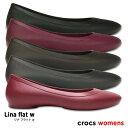 crocs【クロックス】Lina Flat / リナ フラッ...
