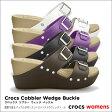 crocs【クロックス】 Cobbler Wedge Buckle/コブラー ウェッジ バックル※※ 【532P19Mar16】
