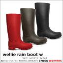 crocs【クロックス】 Wellie Rain Boot W/ウェリー レインブーツ ウィメンズ※※10P21Aug14
