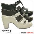 crocs【クロックス】cyprus 5.0 heel w/ サイプラス 5.0 ヒール ウィメンズ ※※レディース サンダル オフィス クロックス crocs サイプラス 【10P23Apr16】