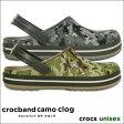crocs【クロックス】crocband camo clog / クロックバンド カモ クロッグ ※※ メンズ レディース サンダル realtree リアルツリー 迷彩 アウトドア【10P01Oct16】