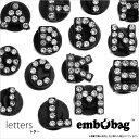 楽天clustic-Rembobag【エンボバッグ】(Letters/レター)「A〜N」