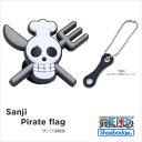 shoebadge【シューバッジ】 (ワンピース)サンジ 海賊旗