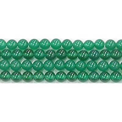 【クーポン対象】 グリーンオニキス丸玉4mmA