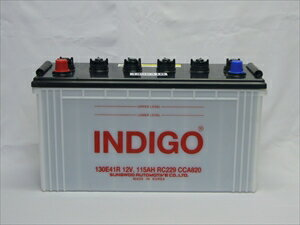 <代引不可>インディゴバッテリー 大型車用 13...の商品画像