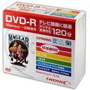 ☆HIDISC DVD-R 録画用5mmスリムケース10P HDDR12JCP10SC