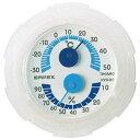 ☆EMPEX 温・湿度計 シュクレミニ温度・湿度計 TM-2381 クリアホワイト