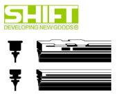 SHIFT シフト GA-250 純正ワイパー用替えゴム(グラファイト・金具無し) GAタイプ 幅6mm 長さ250mm 業務用10本入り
