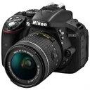 ☆Nikon D5300 デジタル一眼カメラ 「D5300 AF-P」 18-55 VR レンズキット ブラック D5300-AF-P18-55VRKIT