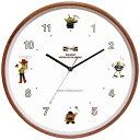 ディズニー ウッドパーツクロック 壁掛け時計 トイ・ストーリー CLOCK63606「他の商品と同梱不可/北海道、沖縄、離島別途送料」