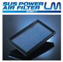 BLITZ ブリッツ 純正交換型エアフィルター SUS POWER LM code59529 スズキ KEI 02/11- HN22S(要純正品番確認※6型〜7型) K6A Turbo(車台番号:750001〜)