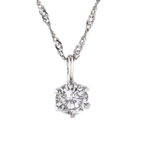 ◇純プラチナ ダイヤモンド 0.1ctペンダント※他の商品と同梱 ※他の商品と同梱※誕生日記念日クリスマス母の日ホワイトデーなどのギフトへ