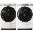 【クーポン発行中】5/20 20:00〜【設置料無料】パナソニック ななめドラム式洗濯乾燥機(10kg)左開き ノーブルシャンパン クリスタルホワイト NA-VX7700L NAVX7700L