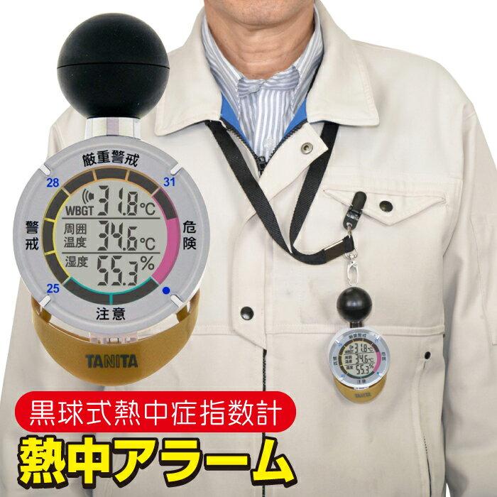 熱中症対策グッズ 黒球式 熱中症指数計 熱中アラ...の商品画像