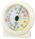 エンペックス高精度UD温・湿度計 EX-2831【温度計/湿度計/アナログ/置き型/置式/温湿度計】