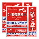 防犯ステッカー 防犯シール ボックス型 防犯カメラ 通常版・内貼版セット 31PR7ZZ0-4