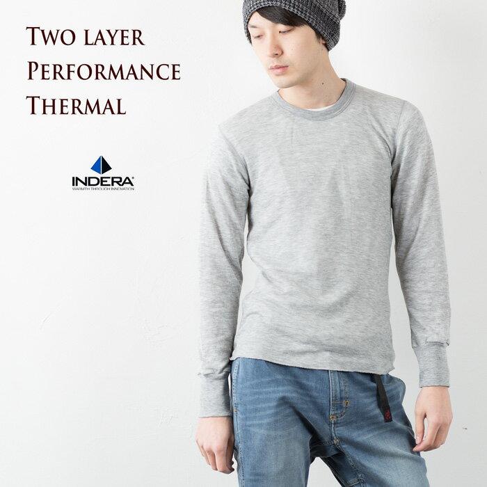 インデラミルズ 2レイヤーパフォーマンスサーマルロングスリーブTシャツ