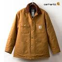 [カーハート ジャケット] チョアコート [ブラウンダック]Carhartt Duck Chore Coat C001