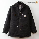 【】カーハート伝統のジャケット チョアコート。[カーハート ジャケット] チョアコート [ブラックダック]Carhartt Duck Chore Coat C001