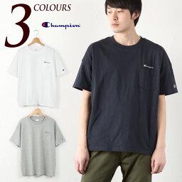 【30%OFF】チャンピオン ポケット ビッグTシャツ Champion POCKET T-SHIRT C3-K357 メンズ レディース 半袖