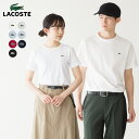 ラコステ 日本製 半袖 クルーネック Tシャツ LACOSTE TH622E