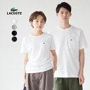 ラコステ 日本製 ポケットTシャツ半袖 クルーネック レギュラーフィット LACOSTE TH633E/TH633EL[ネコポス可]