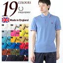 フレッドペリー 英国製 ポロシャツ M12N FRED PE...