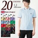 フレッドペリー 英国製 ポロシャツ M12N 新色&定番カラ...
