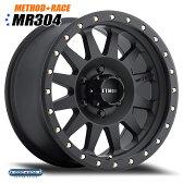 Method Race MR304 Double Standard マットブラック 16インチ 1本