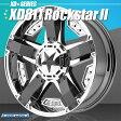 KMC XD811 Rockstarll (ロックスター2) PVDクローム&ブラック 20インチ 9J 1本