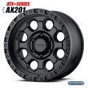 American Racing ATXシリーズ AX201 ブラック 15インチ 1本