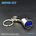 「MOPAR」 マーク入り メタルキーチェーン/キーホルダー ピストン型 モパー ジープ ダッジ