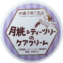 沖縄子育て良品 月桃&ティツリーのケアクリーム (25g)アトピー肌 敏感肌 保湿クリーム あせも しっしん かゆみ