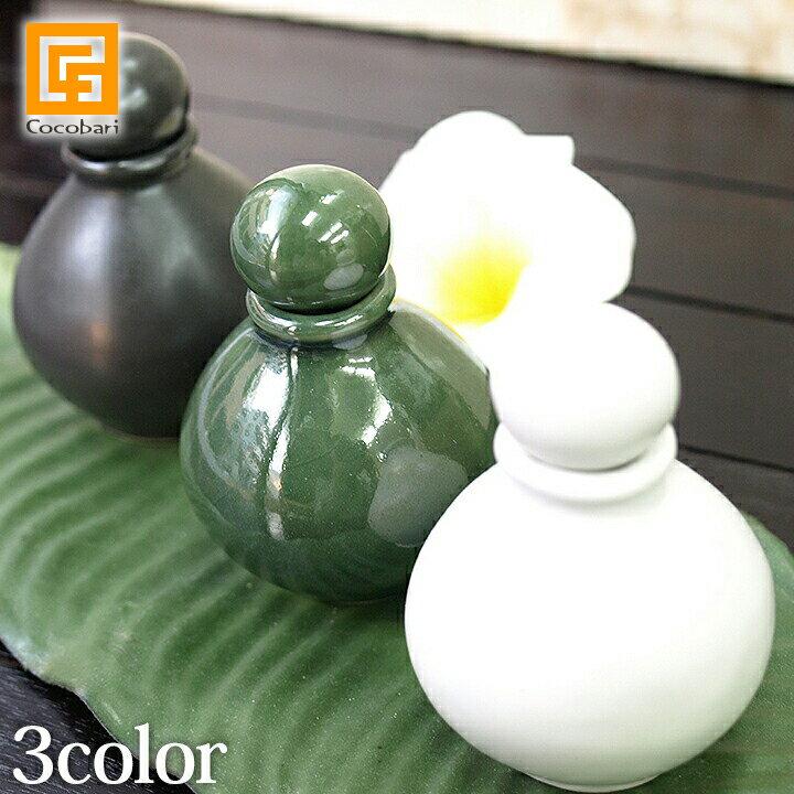 オイルボトルS 陶器 【 マッサージオイル アロ...の商品画像