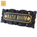 サインプレート(BATH ROOM) 【 バスルーム お風呂...
