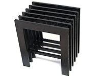 《バリ風の部屋》格子サイドテーブル