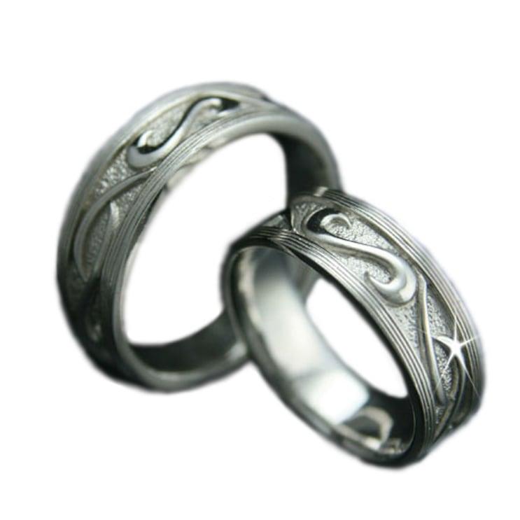 ペアリング 2本セット K10 ホワイトゴールド 結婚指輪 日本製【NEWショップ】【送料無料】 【ペアリング】【ホワイトゴールド】